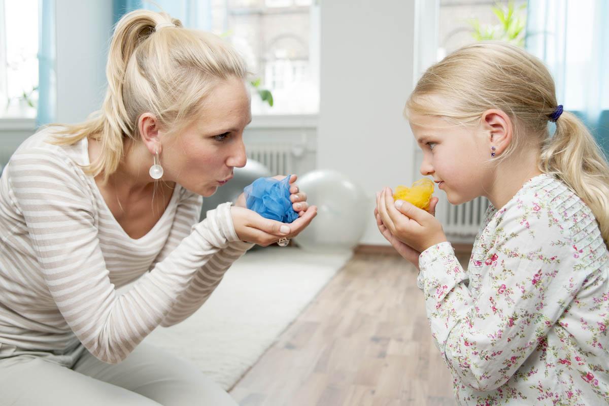 Sprech- und Sprachtherapie
